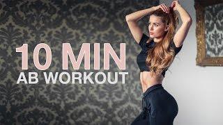 10 MIN INTENSE AB WORKOUT // No Equipment | Pamela RF width=