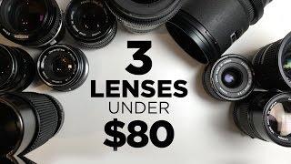 getlinkyoutube.com-3 Affordable Lenses for Video Under $80 Each!