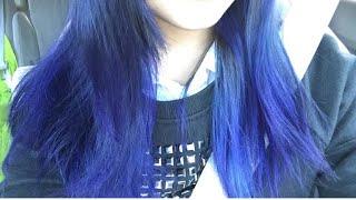 Dying My Hair Purple With N'Rage Purple Plum