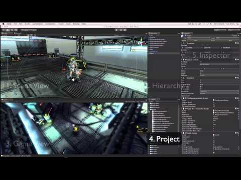 Unity Interface overview - Unity Official Tutorials