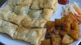 getlinkyoutube.com-Mughlai paratha with spicy potato curry recipe