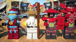getlinkyoutube.com-Samurai X Cave Chaos - LEGO Ninjago - Product Animation 70596