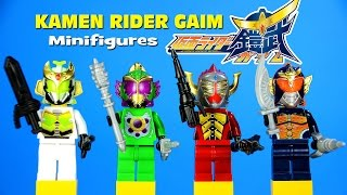 getlinkyoutube.com-Kamen Rider Gaim アーマードライダー鎧武 LEGO KnockOff Minifigures