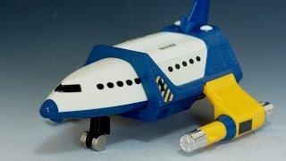 getlinkyoutube.com-ウルトラマンガイア ダヴライナー レビュー Ultraman Gaia DoveLiner Toy