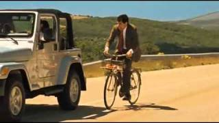 getlinkyoutube.com-Mr. Bean Holiday bike ride - _Crash_ by Matt Willis.mp4