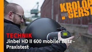 getlinkyoutube.com-[K&G] TECHNIK // Jinbei HD II 600 mobiler Blitz - Praxistest