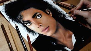 getlinkyoutube.com-Drawing Michael Jackson