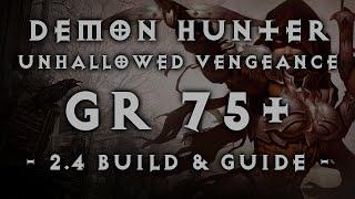 "getlinkyoutube.com-Diablo 3 | Demon Hunter GR 75+ ""Unhallowed Vengeance"" Fire Multishot Build (2.4)"