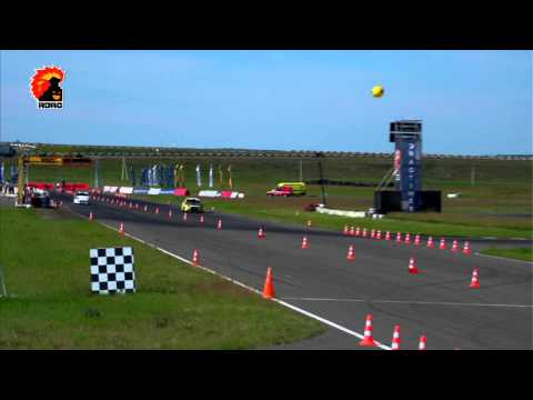 VAZ 2112 vs Mazda Familia, RDRC Stage 1 — 1/4 in FWD