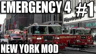 getlinkyoutube.com-Emergency 4 New York Mod #1 - Busy day for the NYPD!