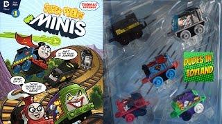 getlinkyoutube.com-Thomas & Friends MINIS DC Super Friends from San Diego Comic Con SDCC