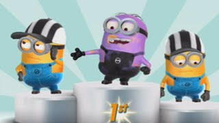 getlinkyoutube.com-Despicable Me: Minion Rush Unlock New Character Purple Minion Disguised