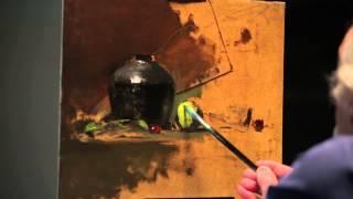 getlinkyoutube.com-David Leffel Still Life Demo Taos 2014 Trailer 2