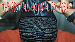 getlinkyoutube.com-HOW TO APPLY THE BEST ALL NATURAL POMADE FOR 360 WAVES!!!