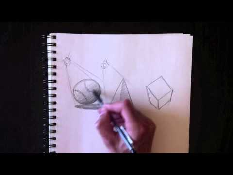 Drawing shadows and shading with Paolo Morrone