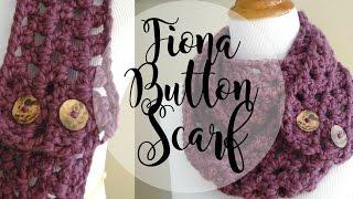 getlinkyoutube.com-Episode 19: How to Crochet the Fiona Button Scarf