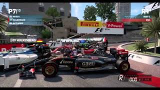 How to win the Monaco GP - Maldonado Style