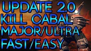 getlinkyoutube.com-Destiny 10 Cabal Ultra/Major Kills Bounty | Fastest/Easiest Way!