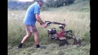 getlinkyoutube.com-Cositoare rotativa cu motocultor loncini lc90