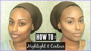 getlinkyoutube.com-How To Highlight and Contour! | My Routine ♡