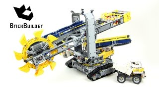 getlinkyoutube.com-Lego Technic 42055 Bucket Wheel Excavator - Lego Speed build