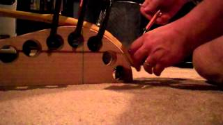 How to build an Osage Bow: Build Along, #6: Bending Osage #1