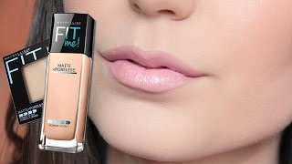 getlinkyoutube.com-NEW: Maybelline Fit Me (Matte and Poreless) Review and First Impression | Elle Levi