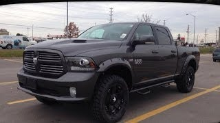 "getlinkyoutube.com-2014 Ram 1500 Sport Crew Cab w/ 4"" Lift | MacIver Dodge Jeep | Newmarket Ontario"