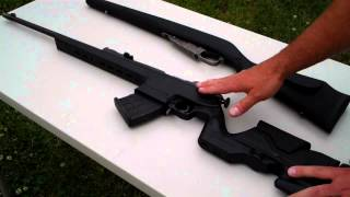 getlinkyoutube.com-Mosin Nagant aftermarket stocks Archangle VS Monte Carlo advantages and disadvantges: TheFireArmGuy