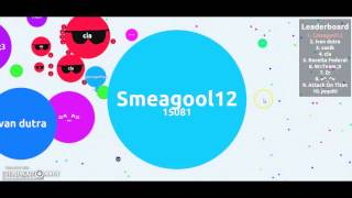 getlinkyoutube.com-Rank 1 + 20K  Mass/Pontos/Score  Sem Mods Agario #8