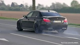 getlinkyoutube.com-INSANE LOUD BMW E60 M5 F1 Dinan Stroker w/ KKS Exhaust!!