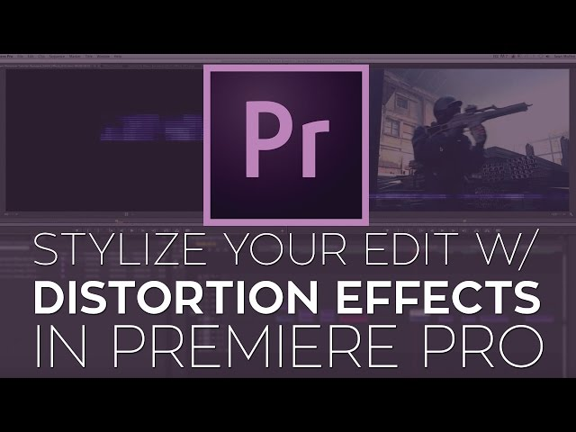 Use Glitch and Distortion Effects to Stylize Your Edit in Adobe Premiere Pro