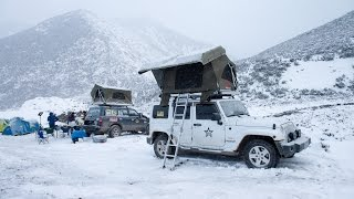 getlinkyoutube.com-Automatic  rooftop tent 2015 with extreme weather testing HD (WildLand 秋野地 车顶帐)