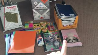 getlinkyoutube.com-Homeschool supplies haul 2016-2017