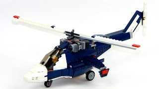Lego Creator 31039 Model B - Helicopter Speed Build And Review