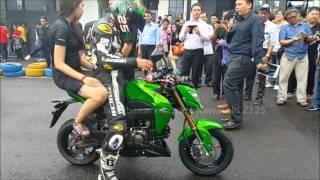 getlinkyoutube.com-Kawasaki Z125 Indonesia Launching (HD)