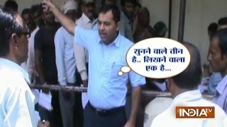 DM Vikas Narwal Scolds Officials for People's Inconvenience in MP's Sagar