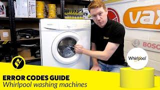 getlinkyoutube.com-Whirlpool Washing Machine Error Codes Diagnosis