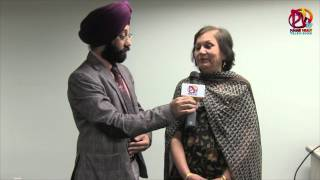 getlinkyoutube.com-Shiv Batalvi's Younger Sister with PV TV on Women's Day - An Interview