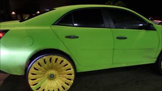 "getlinkyoutube.com-2014 Chevy Malibu on 28"" DUB Skinnie Floaters"