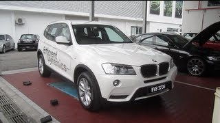 getlinkyoutube.com-2011 BMW X3 xDrive20d Start-Up and Full Vehicle Tour