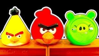 getlinkyoutube.com-Angry Birds Dark Side Knock Off Toys Ep 6 Fire Breathing Godzilla Rampage