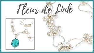 getlinkyoutube.com-Fleur De Link - Beaducation.com