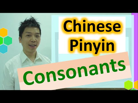 unit 2.1_Pronunciation: Mandarin Chinese Pinyin Lesson - Consonants