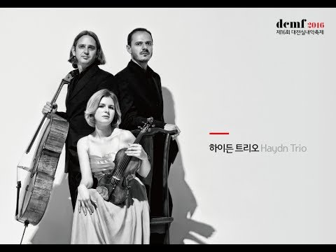 [2016dcmf]Haydn Trio_African Violet for Piano Trio / NamJin