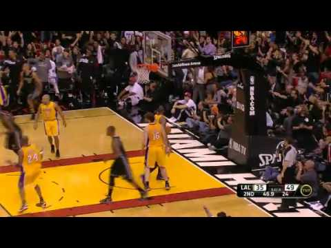 NBA LA Lakers Vs Miami Heat Recap 01/19/2012