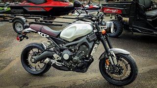 getlinkyoutube.com-All-New Yamaha XSR900!! - 1st Look & Test Ride!   BikeReviews