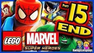 getlinkyoutube.com-LEGO Marvel Super Heroes Walkthrough Part 15 Good & Bad Vs Final Boss Galactus!