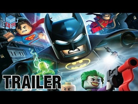 LEGO BATMAN The Movie DC Superheroes Unite Official Robin & Catwoman Clip