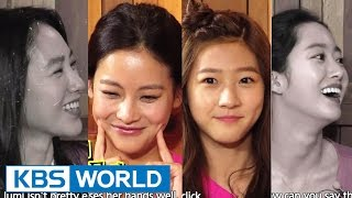 getlinkyoutube.com-Happy Together - Kim Saeron, Jeon Hyebin, Oh Yeonseo & more! (2014.10.09)